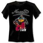 T-Shirt Magpie schwarz